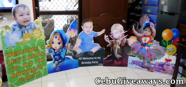 Assorted Celebrant & Character Standees