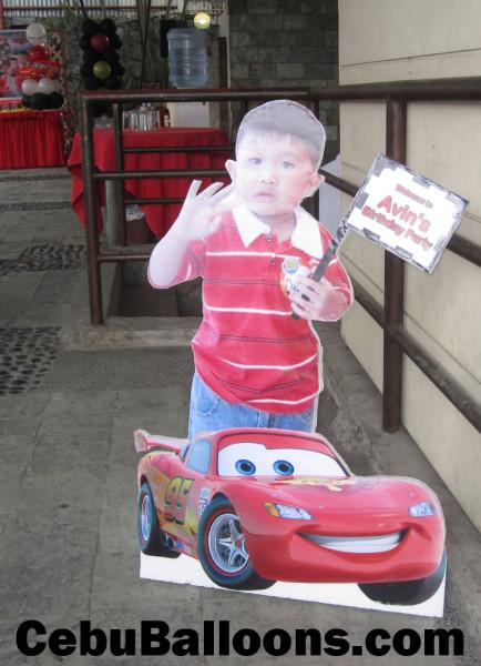 Avin Laz's Standee (Disney Cars)