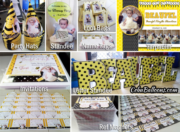 Bumble Bee all-Personalized Items (Beaufel)