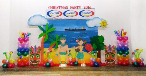 Dalisay Shipping Full Styro Backdrop with Balloon Decors