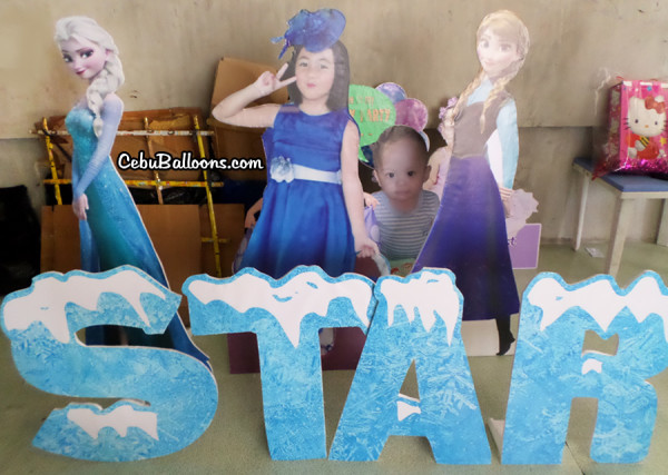 Disney Frozen Standees for Pick-up
