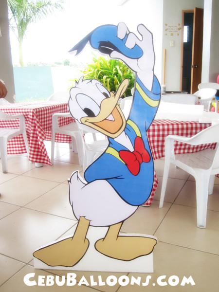 Donald Duck Styro Standee