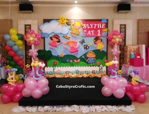 Fairy-theme Full Styro Backdrop