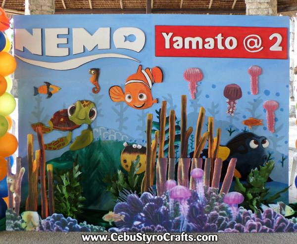 Finding Nemo Full Styro Backdrop (8ft x 6ft)