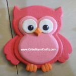 Painted Pink Owl