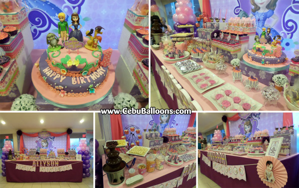 Sample Dessert Buffet Package with 2-Layer Cake